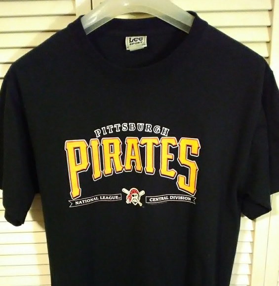 super popular 6b7b7 65b4b Vintage Pittsburgh Pirates T Shirt, Made USA, Lge